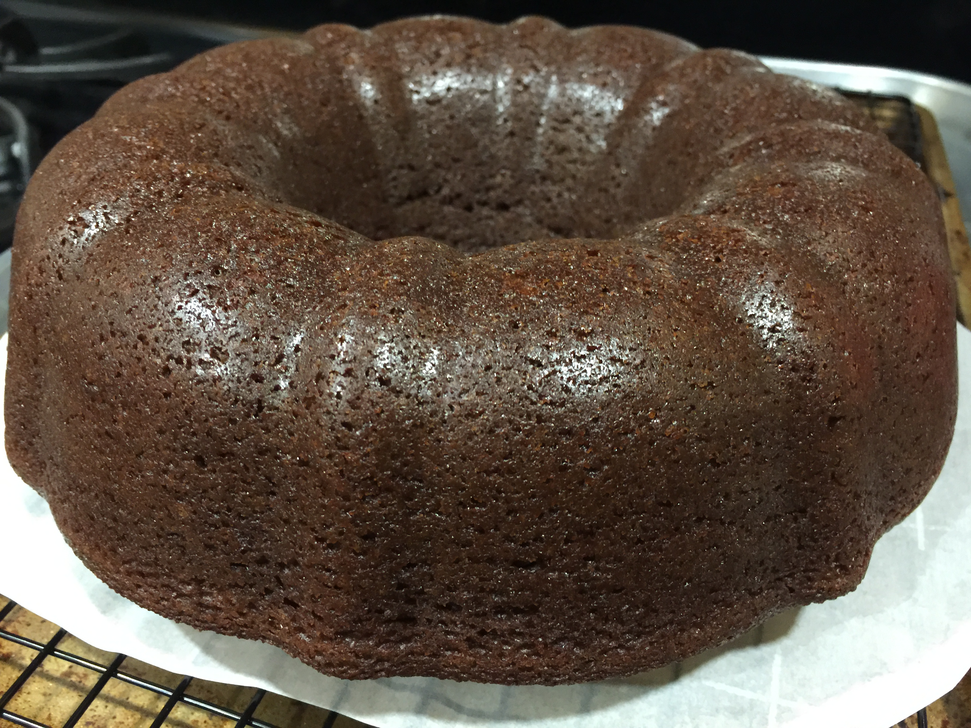 Recommended: Chocolate Sour Cream Bundt Cake from Two Peas & Their ...